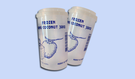 Drink Products > Frozen Young Coconut Juice with coconut flesh